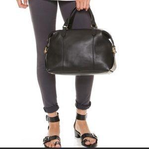 Madewell Kensington *retired* BLK leather satchel